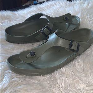 Birkenstock men's sandals sz 43 eur euc